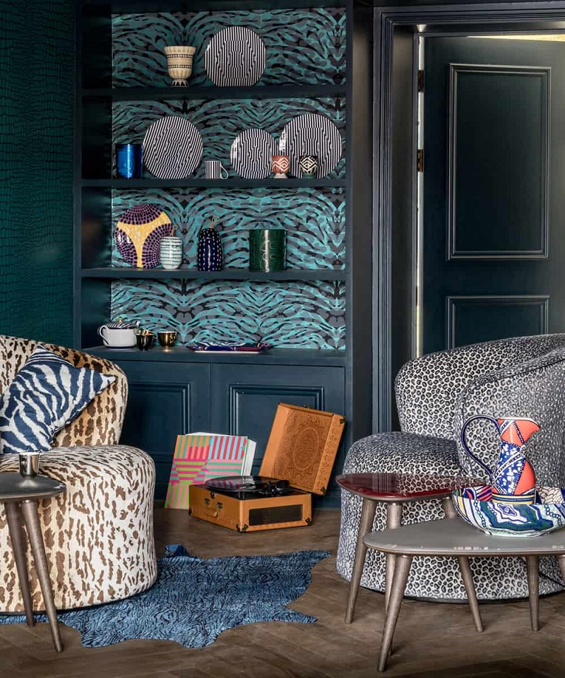 Chic Way To Decorate With Animal Prints